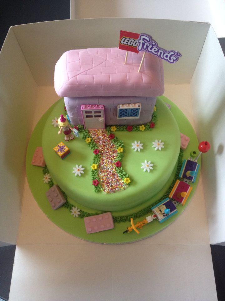 Birthday Cakes Katy Tx ~ Lego friends cake pinteres