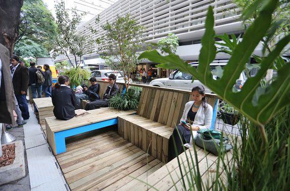 São Paulo regulamenta a criação de parklets para ampliar oferta de espaços públicos na cidade