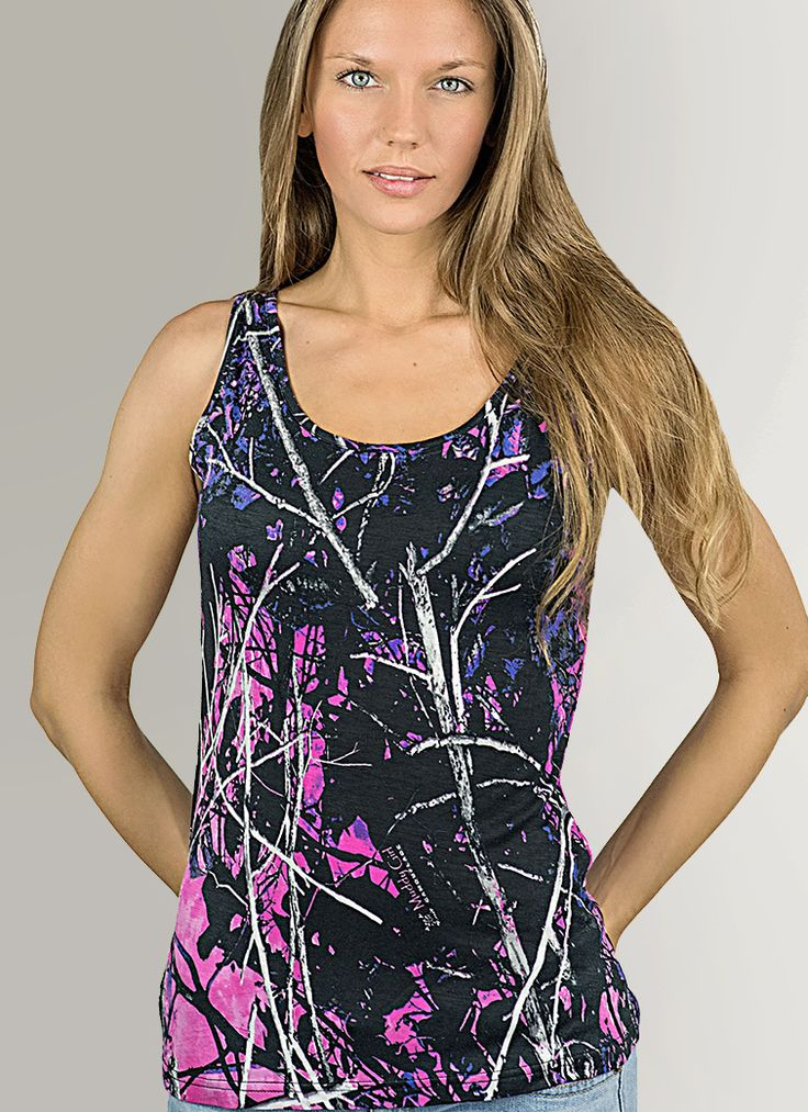 Full Camo Tank Top | Muddy Girl Camo