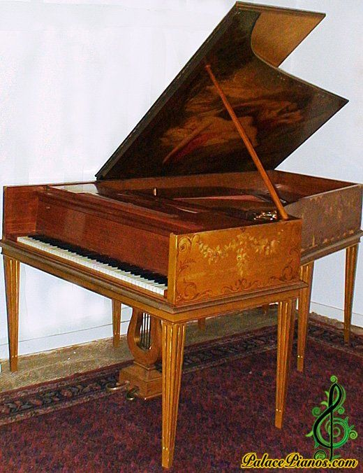 Pleyel art cased piano serial number 148856 - Year 1910