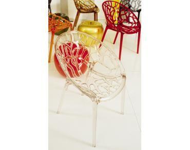 Stoel Crystal - Transparant - LiliansHouse De stoel Crystal is een populaire stoel die al jarenlang meegaat. Het is vooral het design dat de stoel Crystal zo aantrekkelijk maakt. Niet te vergeten oogt de stoel Crystal duur, maar niets is minder waar. De stoel Crystal transparant is een betaalbare stoel met een chique uitstraling. In tegenstelling tot wat veel mensen denken kan de stoel Crystal transparant zowel binnen als buiten gebruikt worden.