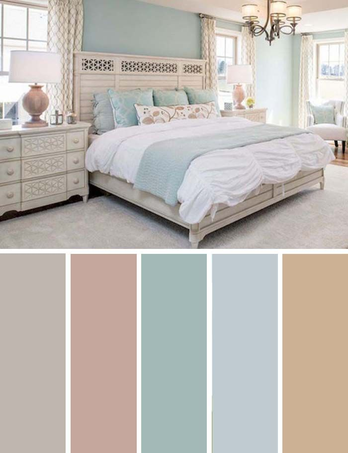 20 Beautiful Bedroom Color Schemes Color Chart Included Best