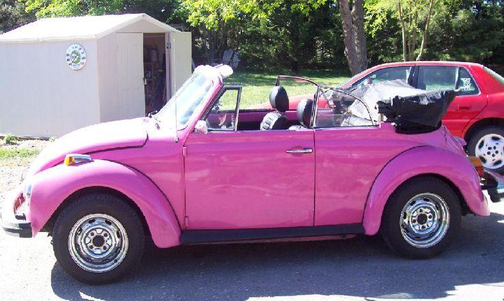 1979 volkswagen beetle pink pink 1979 volkswagen beetle car for sale in broken bow ne. Black Bedroom Furniture Sets. Home Design Ideas