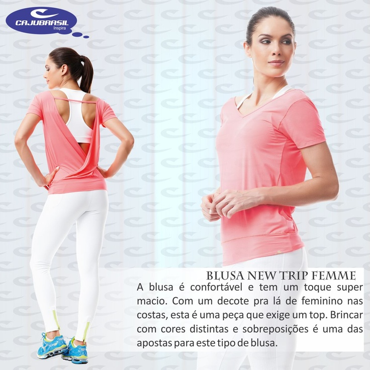 Blusa New Trip Femme