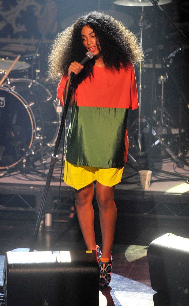 Solange Knowles performing at the Vulture Festival in New York Saturday, May 10, 2014
