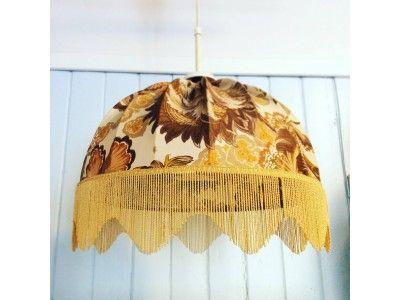 Vintage lamp. www.hellans.no