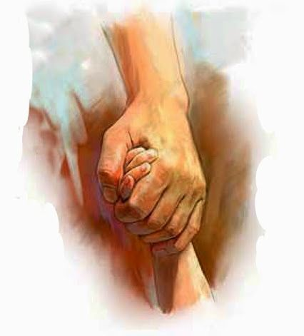 Isaiah 41:10. I will really keep fast hold of you with my right hand of righteousness.