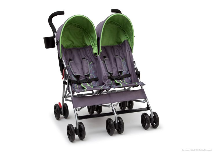 That is why this #twin #stroller is built with a super lightweight frame that fits easily.