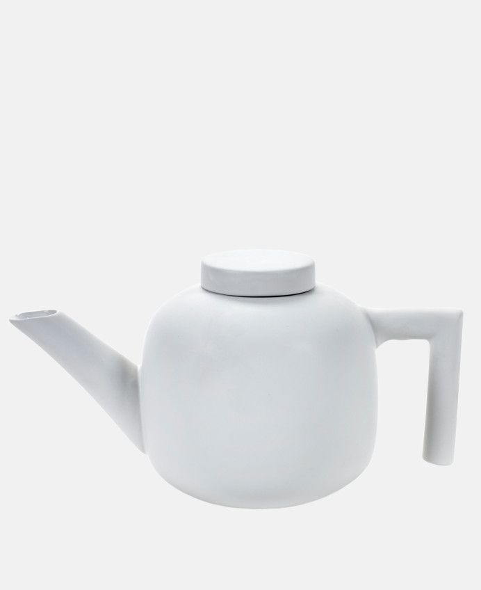 CL Teapot in White