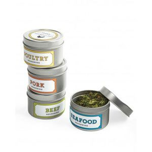 DIY Herb Blends   Create custom blends of dried herbs and spices for beef.    Mediterranean herbs such as rosemary and oregano, with cracked black pepper, stand up to red meat.