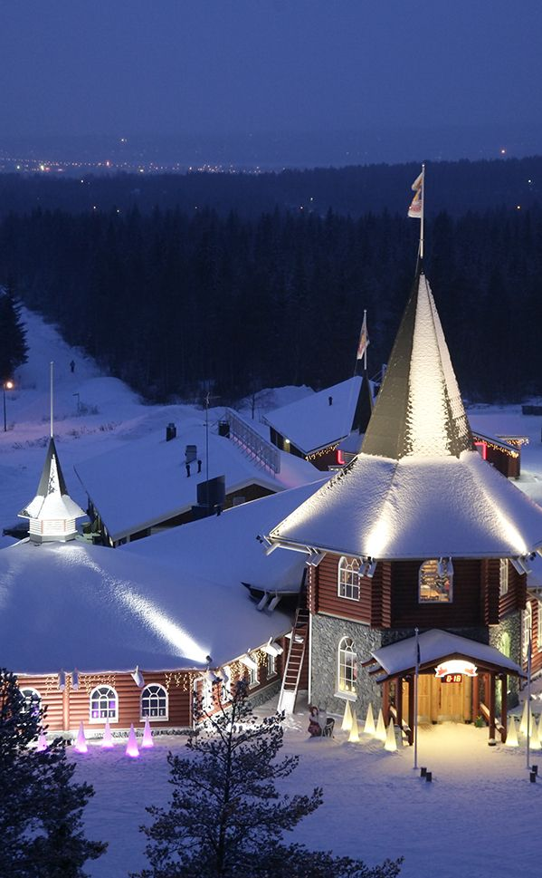 Santa's village just outside the lappish Rovaniemi, Finland.