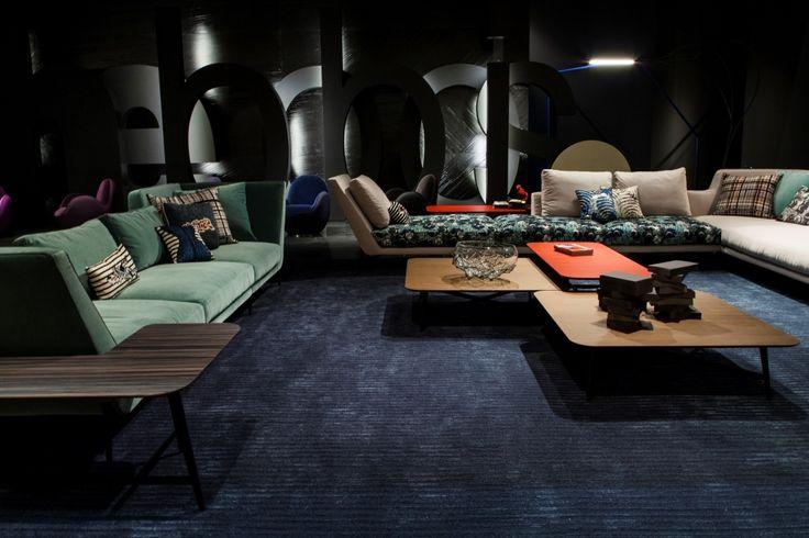 Roche bobois atmos sofa autumn winter collection 2015 for Chaise longue roche bobois