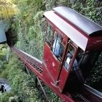 Hillevator at Shadowbrook Restaurant (Capitola, CA): The Hillevator moves up and down a 70-foot-long incline leading from the street to the Shadowbrook Restaurant, which serves great food. The Hillevator is free to ride (but only when restaurant is open) and looks like a San Francisco cable car with its red paint and gold striping. Riding down or up you get a view of beautifully landscaped gardens (waterfalls, ferns, lush greenery).
