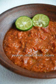 Diah Didi's Kitchen: Inspirasi Menu Buka Puasa Hari ke 24..*Sambel Penyetan* saja ya..ala Semarangan..^^
