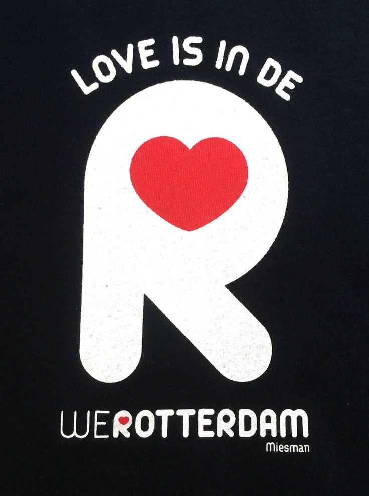 Logo - LOVE IS IN DE R - WeRotterdam - ©Miesman
