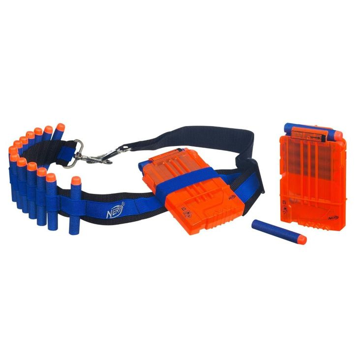Nerf Accessories - Bandolier. Two of these is all you need to become the John Rambo of Nerf!