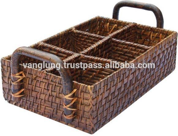 Bamboo Rattan Cutlery basket, View bamboo basket weaving, Vanglungrattan Product Details from VANG LUNG BAMBOO AND RATTAN EXPORT MANUFACTURING CO.,LTD on Alibaba.com