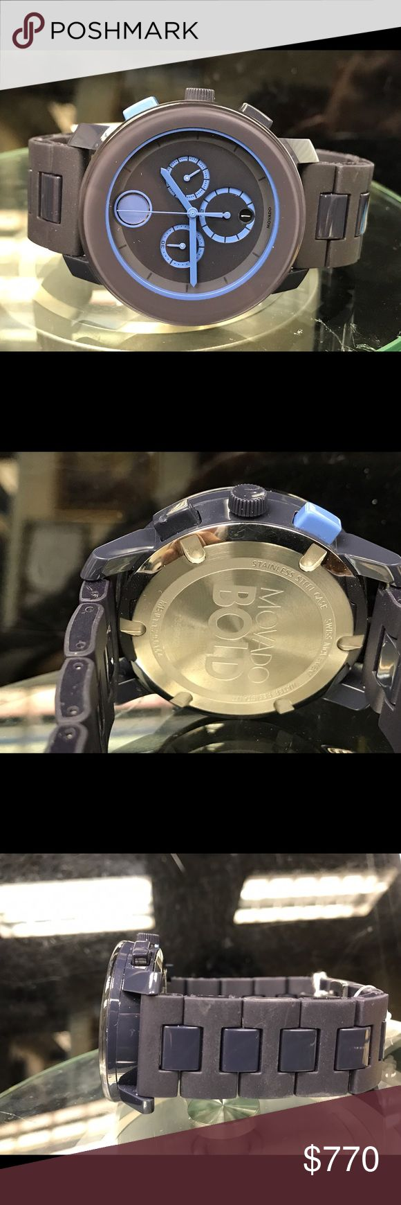 Movado bold men's chronograph watch. Brand new chronograph men's watch. No box and papers. Movado Accessories Watches