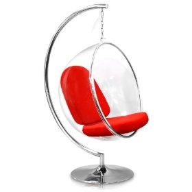 Eero Aarnio #Mod #Retro Hanging Ball Chair   A Place To Enjoy #GoodReads