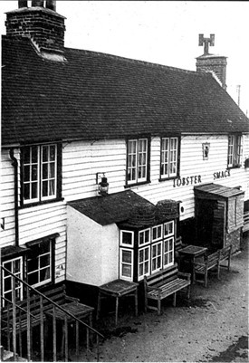 Nestling beneath the sea wall on Canvey Island, the Lobstersmack inn has bravely weathered storm and tempest since the surprise attack by Dutch sailors in 1667