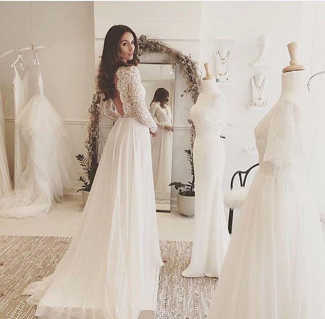 Die besten 17 Ideen zu Brautkleid Rückenfrei auf Pinterest ...