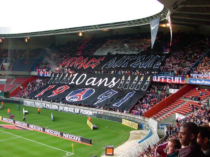 PSG-Metz 2001/2002 (10 ans Virage Auteuil 1991)