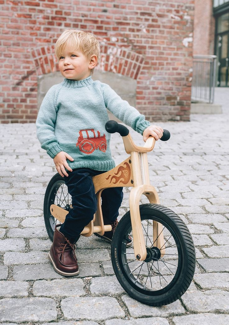 Sandnes Garn, Traktor barn genser