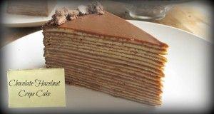 Crepe Cake - Chocolate Hazelnut - DominickCosta.com