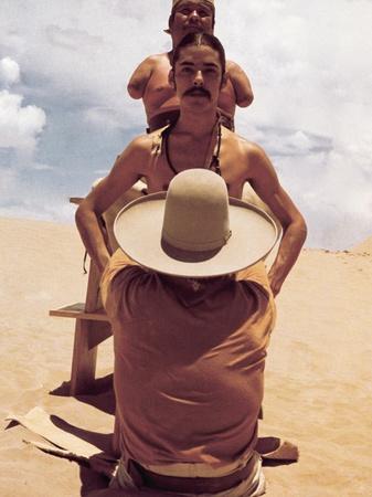 El Topo, Ignacio Martinez Espana, Hector Martinez, Elisea Gardea Saucedo, 1970 Premium Poster