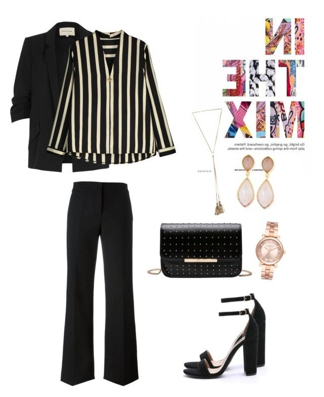 formal glam by snursehaa on Polyvore featuring polyvore, fashion, style, River Island, Marni, Steve Madden, Dina Mackney, Michael Kors, Chloé and clothing