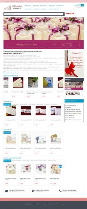 Prosperdesign Creare Magazin Online Marturii by ProsperDesignWeb.deviantart.com on @DeviantArt
