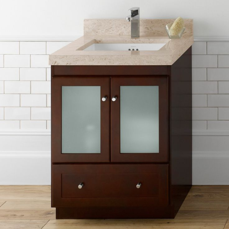 Perfect Ronbow Shaker in Single Bathroom Vanity RON