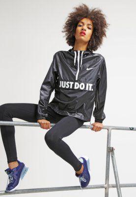 Bestill Nike Sportswear CITY - Lett jakke - black/white for kr 579,00 (08.03.16) med gratis frakt på Zalando.no