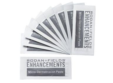 #Skincare #Beauty ENHANCEMENTS Micro-Dermabrasion Paste Packets- Rodan + Fields