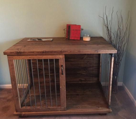 Dog Kennel Bed Dogkennelbed Dog Crate Furniture Coffee Table