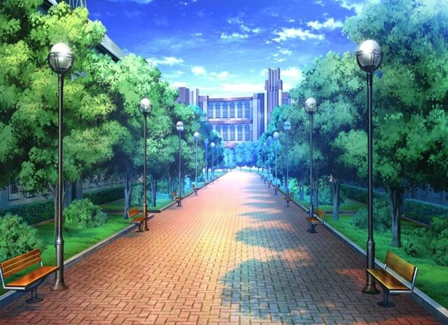 City, Scenery, Background, Anime Background, Anime Scenery, Visual Novel Scenery, Visual Novel Background