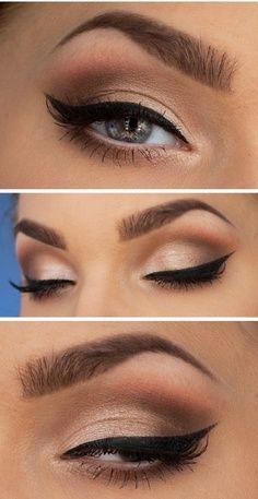 How to apply eyeliner tutorial #makeuptips
