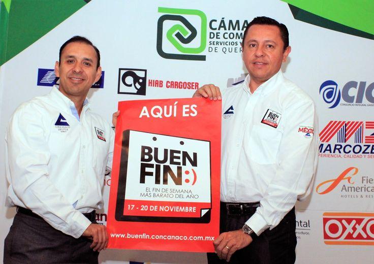 Querétaro, Qro.- En conferencia de prensa,Gerardo de la Garza Pedraza, Presidente de la Cámara de Comercio de Querétaro, indicó que con el cierre de año se tendrán fechas importantes para fomentar…