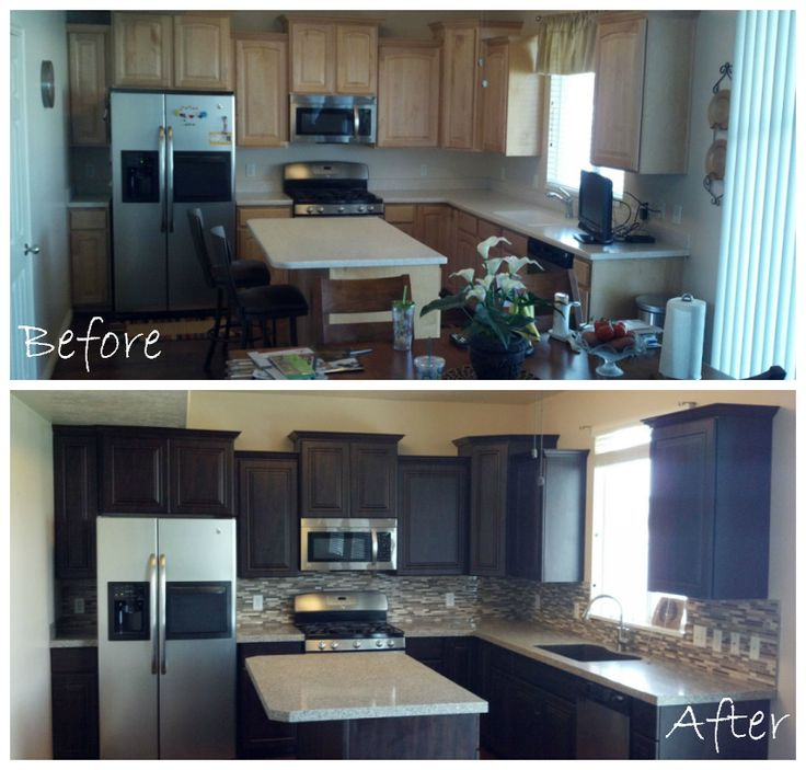Kitchen Transformation Before And After: 17 Best Images About Before & After On Pinterest