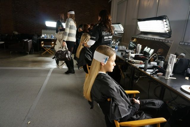 Hair direction, Jon Pulitano for Redken Australia.