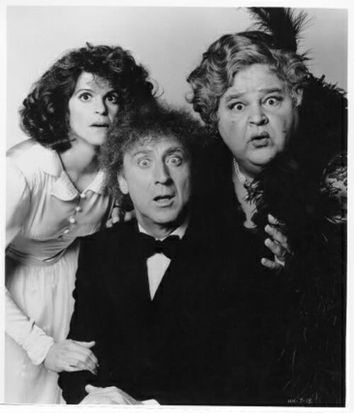 """Gina's Halloween Movie Special – Haunted Honeymoon (1986)   The Geek Girl Project    """"Haunted Honeymoon is a fun, lighthearted comedy starring Gene Wilder and Gilda Radner as murder mystery radio stars who decide to get married."""""""