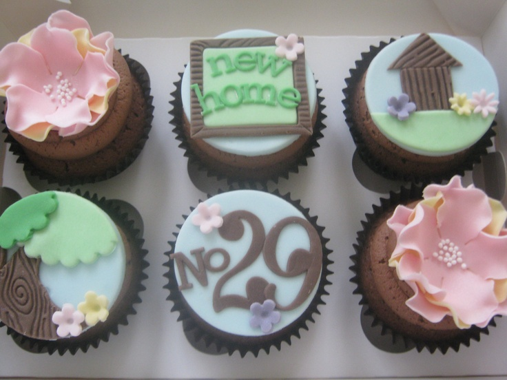 8 Best Images About Housewarming Cupcakes On Pinterest