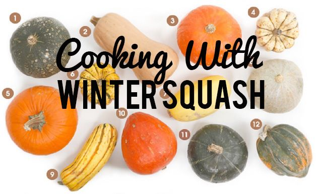 Guide to Winter Squash Varieties: Learn about 12 different varieties of winter squash—plus tips for choosing and cooking with each variety.