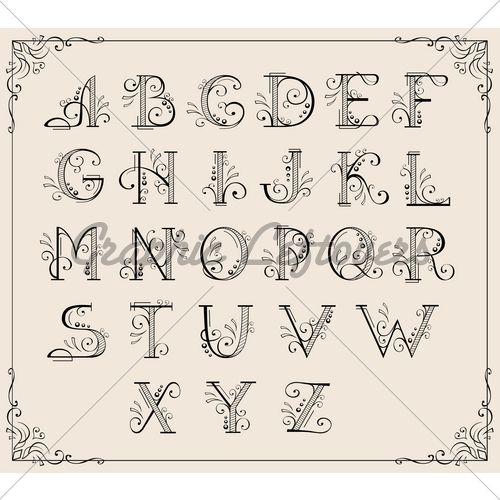 111 Best Images About Alphabets On Pinterest The