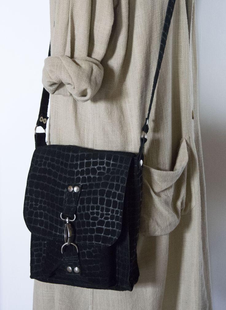 Skrawek Natury - mini textured leather bag