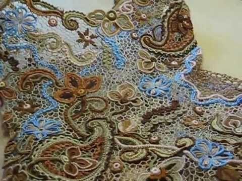 Art Crochet  (Merletto irlandese)Очарование Азии.