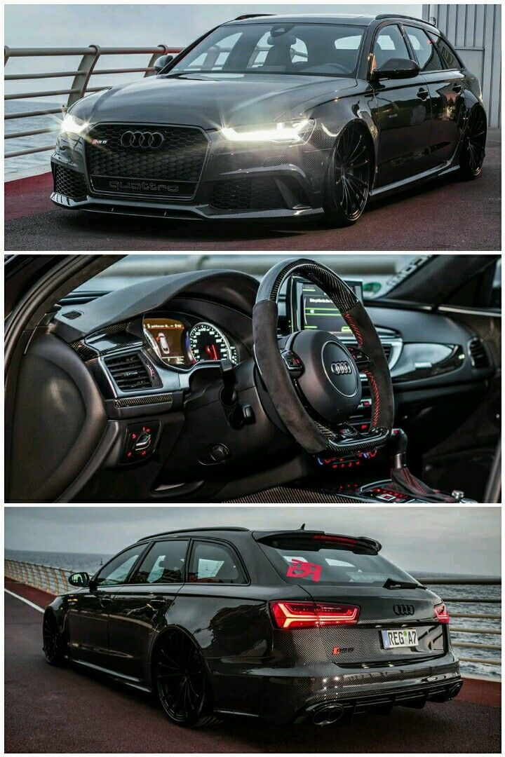 Full carbon fibre body Audi RS6 C7 Avant #LuxuryGarages