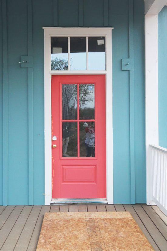 Best 25 Coral Door Ideas On Pinterest