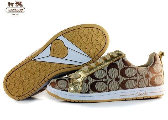 coach athletic shoes