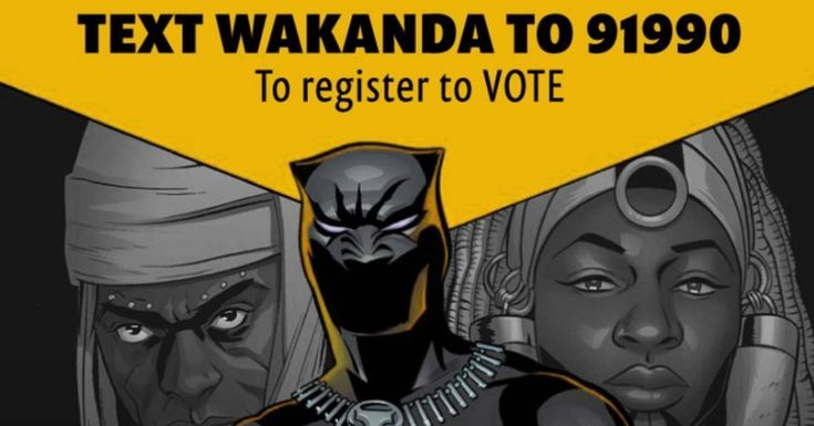 Activists Launch Voter Registration Drive At 'Black Panther' Screenings | HuffPost